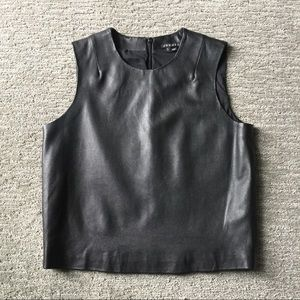 Theory Leather Top